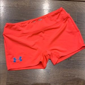 Under armour fitted shorts